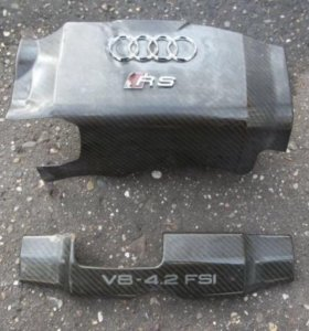 Коплект карбона на двигатель Audi RS4 B7 (8E)