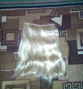 Волосы блондин длиные в отличном состояние