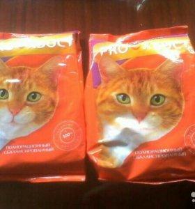 Корм для кошек цена за 2 упаковки