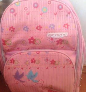 Рюкзак б/у для девочки