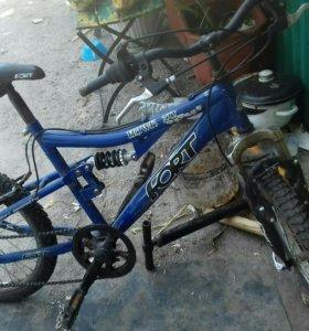 Велосипед скоростной, брали за 16000