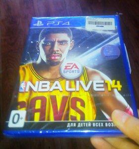 NBA LIVE 14 для PS4