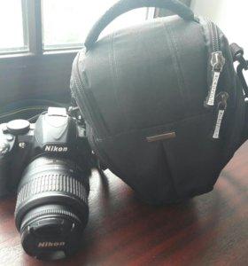 Цыфровой зеркальный фотоаппарат nikon d3100