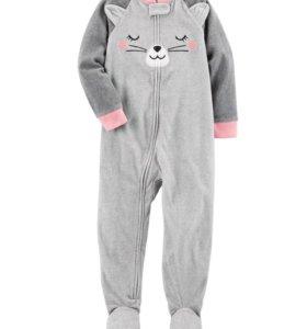 Carters 2Т теплая пижама