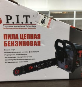 """Пила бензиновая GCS45-D P.I.T. 16"""" 400мм"""