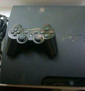 Playstation 3 Slim 320 Gb + 6 игр