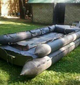 Лодка резиновая СНЛ 8