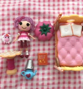 Кукла Lalaloopsy Pillow's Sleepover Party
