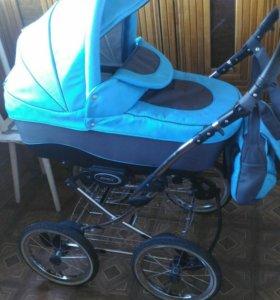 Детская коляска adamex 2в 1
