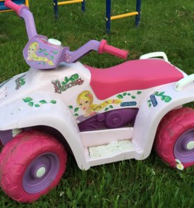 Детский квадроцикл Peg Perego Quad Princess