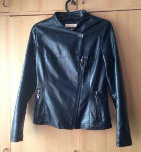 Куртка кожаная пальто