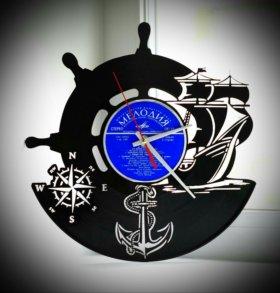 """Оригинальный подарок. Часы """"Морская прогулка"""""""