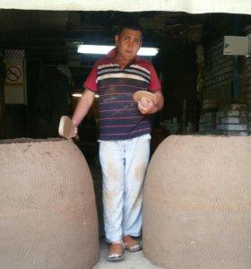 Тандыр из глина