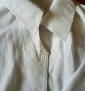 Белая блузка54-58размер