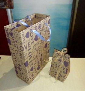 """Пакет подарочный """"Love"""""""