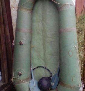 Лодка резиновая, одноместная