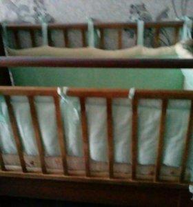 Детская кровать трансформер