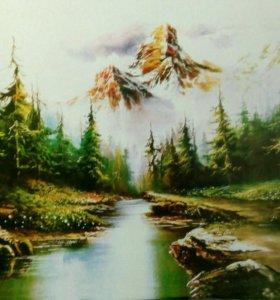 """Картина """"Горный пейзаж"""""""