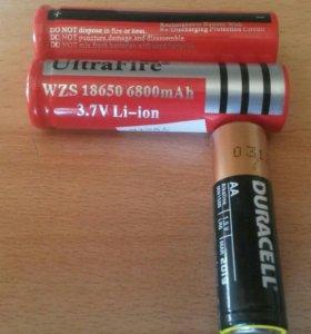 Батарейки литионные