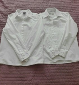 Рубашки для мальчика .школа 140-146. Цена за две.