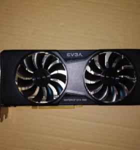 Видеокарта evga Nvidia GTX 980 ACX 2.0 GeForce 4GB