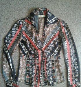 Блузка шёлк. Размер 36