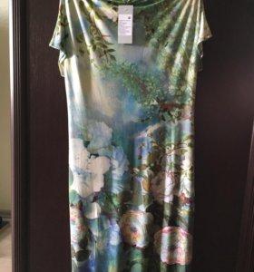 Платья из тонкого трикотажа (цена за 2 штуки)