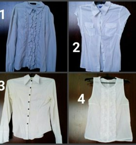 Рубашки на девочку 5-8кл