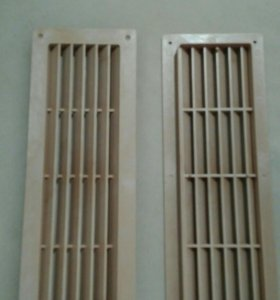 Решетка радиатора, воздуховодов 2шт новые