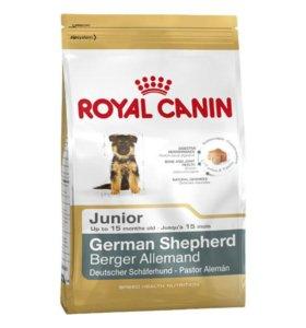 Royal Canin German Shepherd Junior, 3 и 12кг.