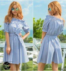 Лёгкое хлопковое летнее платье