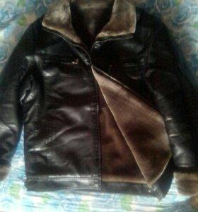 Мужская,кожаная куртка