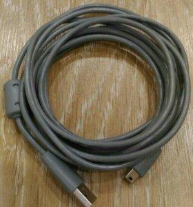 Кабель зарядки для джойстика PS3 (2 метра)