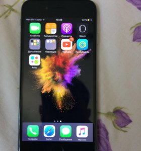 iPhone 6 с отпечатком
