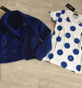Брендовая куртка Un Jeans, оригинал. Новая.