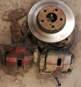 Комплект передних тормозов st20x