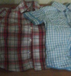 Летние рубашки на мальчика.