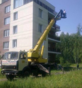 Любые Автокраны Автовышки в Климовске - Подольске