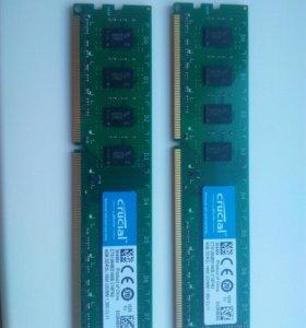 Оперативная память ddr3 на частоте 1600. 2x