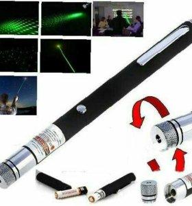 Лазерная указка 500 мВт со съемной насадкой