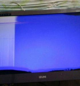Телевизор Izumi tle32h150g На запчасти.