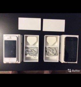 Продам комплект из двух iPhone 4s 32гб