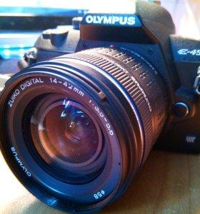 Olympus E-450 зеркалка 10 мпикс