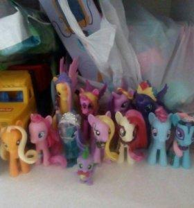 Вся коллекция пони