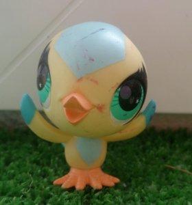 Игрушка LPS, птица.