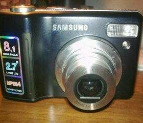 Цифровой фотоаппарат Samsung S830