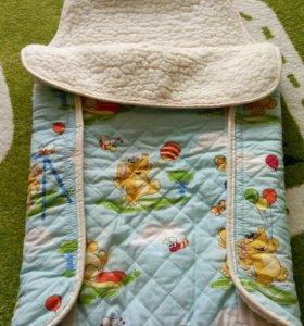 Конверт-одеяло из овчины