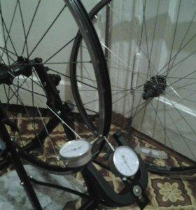 Правка велосипедных ободов и ремонт велосипедов