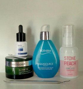 biotherm, yves rocher, apeu, the body shop