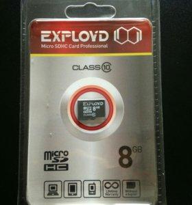 Флеш микро 8 гб 10 класс на телефон